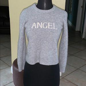 cashmere angel sweater ❄️